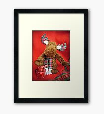 Chris Moose Framed Print
