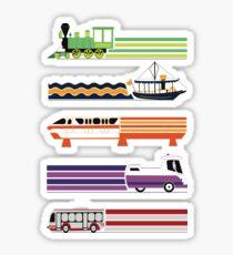 Transit System Sticker