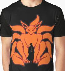 9 Tailed Ninja Graphic T-Shirt