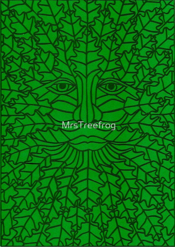 Green Man - 5 by MrsTreefrog