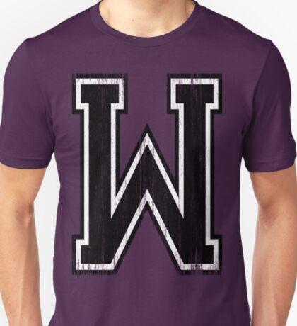 Big Varsity Letter W T-Shirt
