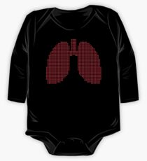 8bit lungs Kids Clothes