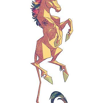 Ariel's Unicorn by TastesLikeAnya