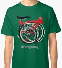 Brompton Bicycle Folded Classic T-Shirt