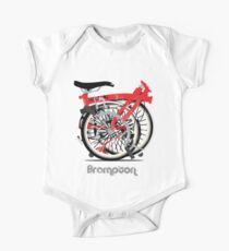 Brompton Bicycle Folded One Piece - Short Sleeve