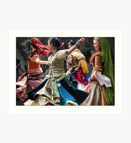 gypsy women Art Print