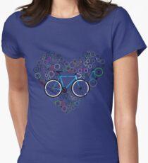 I Love My Bike Women's Fitted T-Shirt
