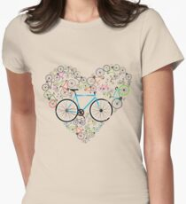 I Love My Bike Women's Fitted T-Shirt