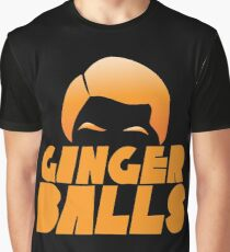Ginger Balls (Redhead funny) Graphic T-Shirt