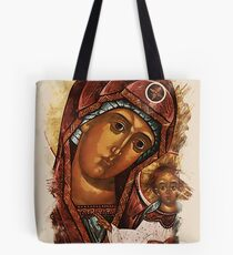 Heavenly Mother and baby Tote Bag