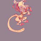 Heraldic Minoan Griffin by TastesLikeAnya