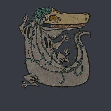 Miwitu the Crocodile by TastesLikeAnya