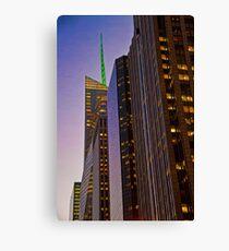 Lienzo USA. New York. Manhattan. Skyscrapers.