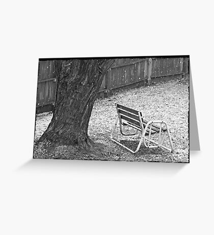 Winter Dusting Greeting Card