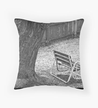 Winter Dusting Throw Pillow