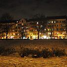 Berlin by night #2 by Lukasz Godlewski