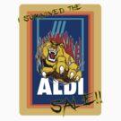 I survived the Aldi sale. by Luke Griffin