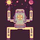 Space Sloth by TastesLikeAnya