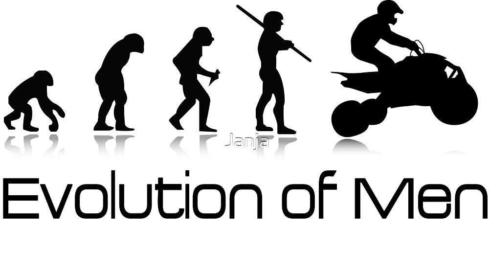 Off-Road Quad- Evolution of Men by Janja