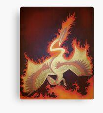 Phoenix Dragon Canvas Print