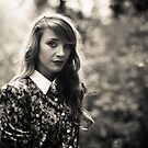 Jaclyn in Black and White by ayresphoto