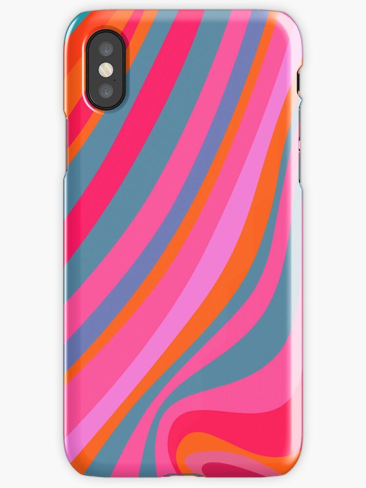 Pattern stipes - multicolor by CatchyLittleArt