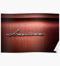 Rusty American Poster