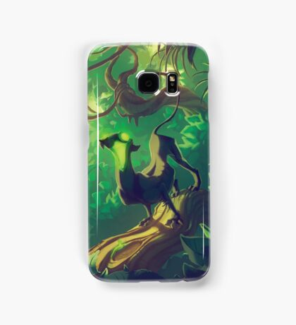 Acid Panther Illustrative Samsung Galaxy Case/Skin