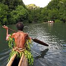 Canoe Journey by Reef Ecoimages