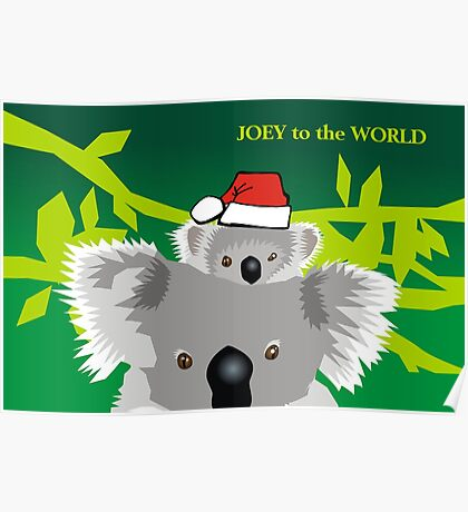 Joey to the World Poster