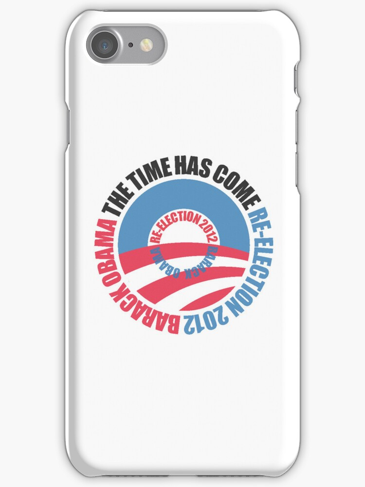 OBAMA RE-ELECTION 2012 (for light color shirts) by madeofthoughts