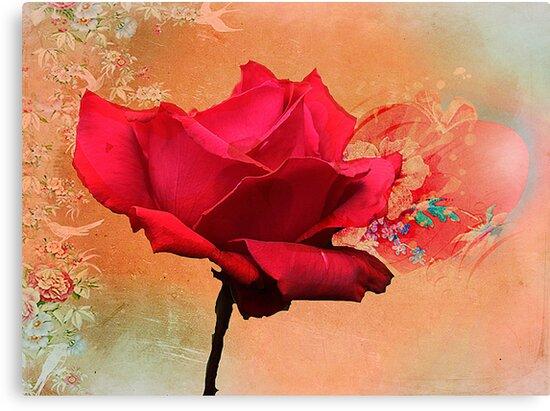 Valentine's day by Irene  Burdell