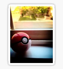 Pokeball Photo design Sticker