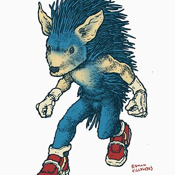 Sonic The Hedgehog by RamonVillalobos