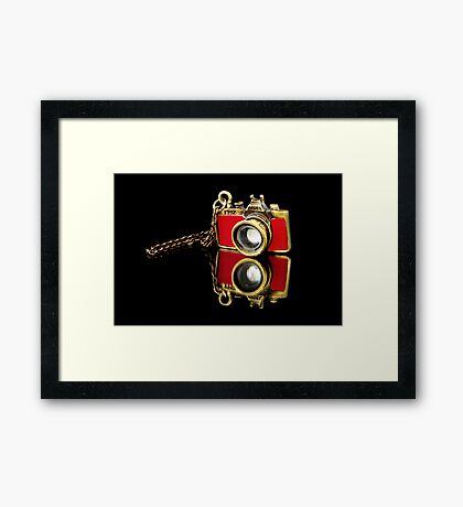 Camera Mad Framed Print