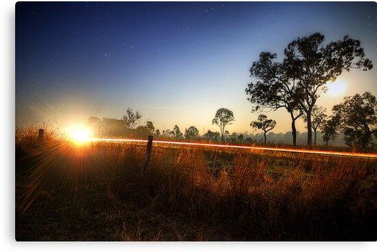 Blazing Trails by Luke Griffin