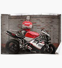 Ducati 748 Bike Poster