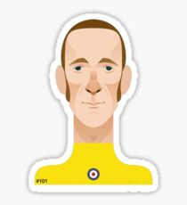 Bradley Wiggins sports personality Sticker