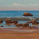 Indian ocean. Gokarna. Kudle beach by Vrindavan Das