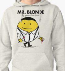 Mr. Blonde (Mr. Men versus Reservoir Dogs) Pullover Hoodie