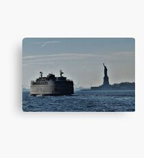 Liberty Island Canvas Print
