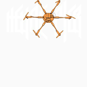 HexaCopter by ChickenSashimi
