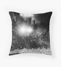 Corn chopping at night ? Throw Pillow