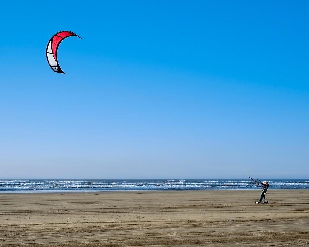 Kiteboarding by John Burtoft