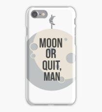 Parks and Recreation - The Moon Shall Join Your Coalition iPhone Case/Skin