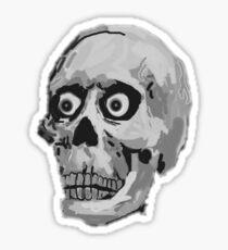 CREEP II (black and white) Sticker