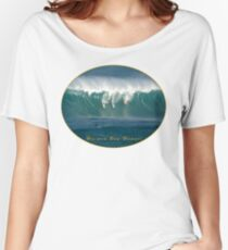 Big Wave Contest Hawaii Women's Relaxed Fit T-Shirt