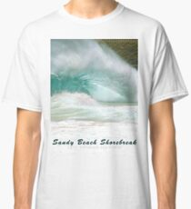 Barack Obama's Boyhood Bodysurfing Beach Classic T-Shirt