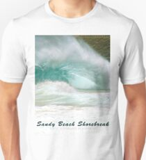 Barack Obama's Boyhood Bodysurfing Beach Unisex T-Shirt