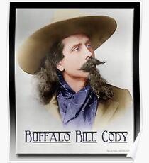 Buffalo Bill Cody in Oil Poster